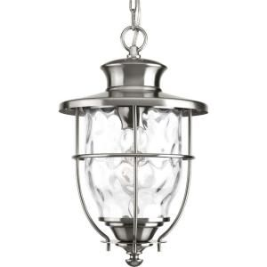 Progress Lighting Beacon Collection Hanging Outdoor Stainless Steel Lantern P6511 135DI
