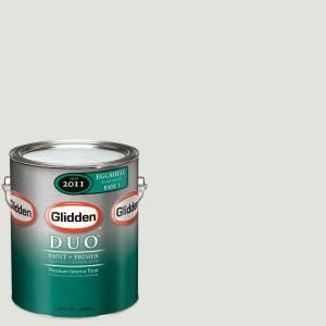 Glidden DUO 1 gal. #GLC30 01F Stone White Eggshell Interior Paint with Primer GLC30 01E
