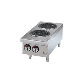 Star Max 502CF 2 Burner Countertop Range with Coil Burners Kitchen & Dining