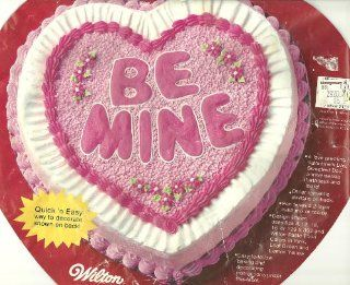 "Wilton Cake Pan Be Mine Valentine/12"" Heart (502 2790, 1983) Kitchen & Dining"