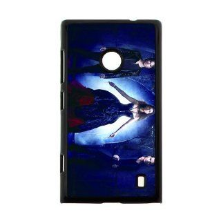 Vampire Diaries Hard Plastic Cover Case for Nokia Lumia 520 Cell Phones & Accessories