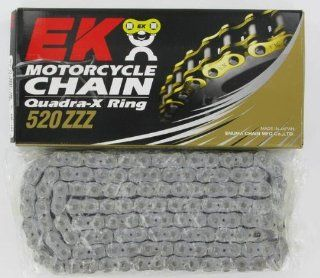 EK Chain 520 ZZZ X Ring Chain   120 Links   Chrome , Chain Type 520, Chain Length 120, Color Chrome, Chain Application Offroad 520ZZZ 120/C Automotive
