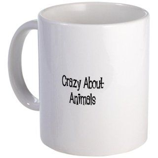 Crazy About Animals Mug   Standard Kitchen & Dining