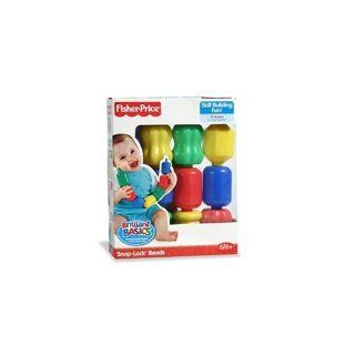 Fisher Price Brilliant Basics Snap Lock Beads   12 Shapes  Early Development Activity Centers  Baby