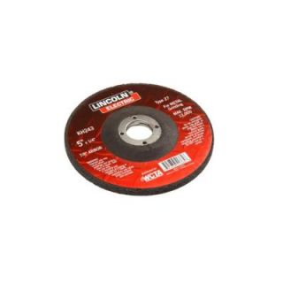 Lincoln Electric 5 in. x 1/4 in. Type 27 Grinding Wheel KH243