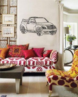 Chrysler Pt Cruiser Wall Decor Vinyl Decal Sticker D 509