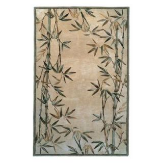 Kas Rugs Simple Bamboo Ivory 8 ft. 6 in. x 11 ft. 6 in. Area Rug SPA314686X116