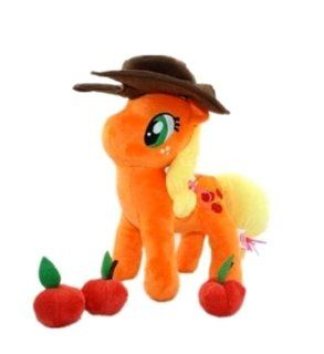 MLP Apple Doll Animal My Little Pony Friendship Is Magic Applejack Plush Toy Toys & Games