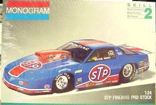 Monogram 2933 Rickie Smith STP Firebird Pro Stock 1/24 Scale Plastic Model Kit Toys & Games