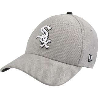 NEW ERA Mens Chicago White Sox Custom Design 39THIRTY Stretch Fit Cap   Size