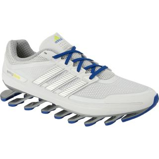 adidas Mens SpringBlade Running Shoes   Size 9, White/royal