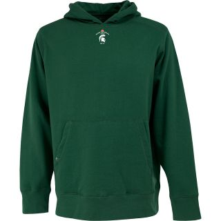 Antigua Mens Signature Pullover Hooded Sweatshirt w/ Rose Bowl Michigan State