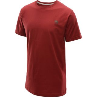 MOUNTAIN HARDWEAR Mens MHW Logo Short Sleeve T Shirt   Size Large, Beet