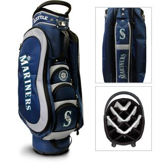 Team Golf MLB Seattle Mariners Medalist Golf Cart Bag (637556974358)