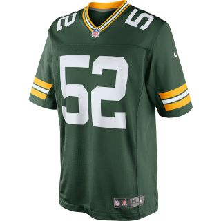 NIKE Mens Green Bay Packers Clay Matthews NFL Limited Team Color Jersey   Size
