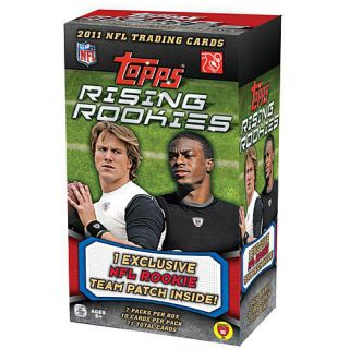 Topps 2011 Rising Rookies Blaster Football Card Set of NFL Draft Picks with 7