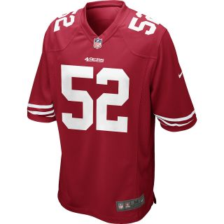 NIKE Mens San Francisco 49ers Patrick Willis Game Team Color Jersey   Size