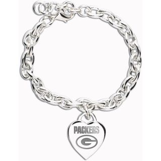 Wincraft Green Bay Packers Heart Charm Bracelet (60828091)