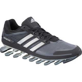 adidas Mens SpringBlade Running Shoes   Size 9, Black/silver