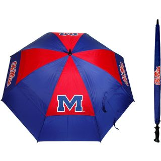 Team Golf University of Mississippi Rebels Double Canopy Golf Umbrella