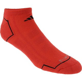 adidas Mens Climacool II 2 Pack Low Cut Socks   Size Large, Hi Res Red/black