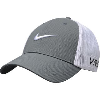 NIKE Mens Tour FlexFit Golf Cap   Size L/xl, White/grey