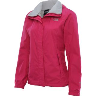 THE NORTH FACE Womens Resolve Rain Jacket   Size Large, Passion Pink