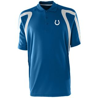 Antigua Mens Indianapolis Colts Point Desert Dry Xtra Lite Moisture Management