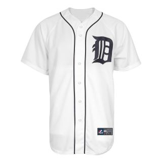 Majestic Athletic Detroit Tigers Blank Replica Home Jersey   Size XL/Extra