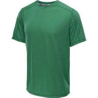 CHAMPION Mens PowerTrain Heather Short Sleeve T Shirt   Size Large, Green