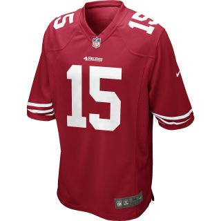 NIKE Mens San Francisco 49ers Michael Crabtree Game Team Color Jersey   Size