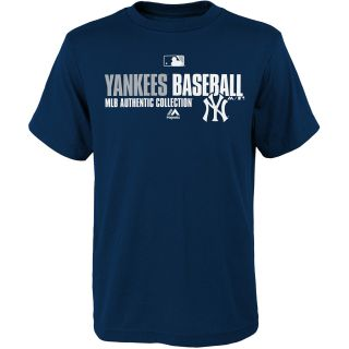 MAJESTIC ATHLETIC Youth New York Yankees Team Favorite Authentic Collection