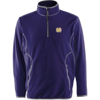 Antigua Mens Notre Dame Fighting Irish Ice Pullover   Size Large, Notre Dame