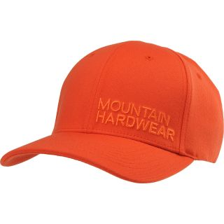 MOUNTAIN HARDWEAR Mens MHW Logo 3.0 Hat   Size L/xl, State Orange