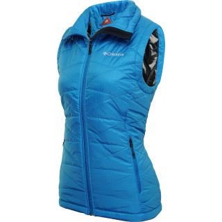 COLUMBIA Womens Mighty Lite III Vest   Size XS/Extra Small, Compass Blue