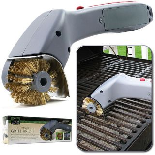 Chef Buddy Cordless Motorized Outdoor Grill Cleaning Brush (75 4631)