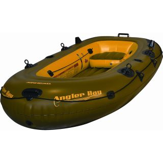 Airhead Angler Bay Inflatable Boat, 4 person (AHIBF 04)