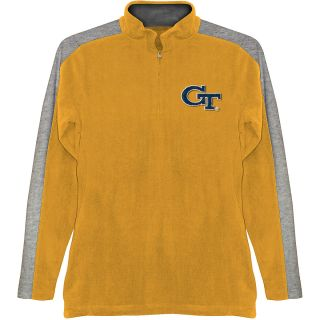 T SHIRT INTERNATIONAL Mens Georgia Tech Yellow Jackets BF Conner Quarter Zip