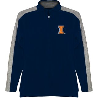 T SHIRT INTERNATIONAL Mens Illinois Fighting Illini BF Conner Quarter Zip