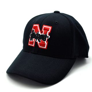 Top of the World Premium Collection Nebraska Cornhuskers One Fit Hat   Size 1