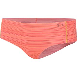 UNDER ARMOUR Womens Pure Stretch Cheeky Hipster, Afterglow/brilliance