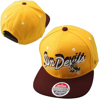 Zephyr Arizona State Sun Devils Shadow Script 32/5 Adjustable Hat (ARSSSC0010)