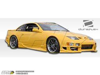 1990 1996 Nissan 300ZX Duraflex Bomber Body Kit   4 Piece   Includes Bomber Front Bumper Cover (100981) Vader Rear Lip Under Spoiler Air Dam (100973) Vader Side Skirts Rocker Panels (100974) Automotive