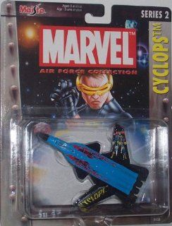 Maisto Ultimate Marvel Air Force Cyclops Su 47 Airplane Diecast X Men Plane Toys & Games