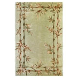 Kas Rugs Bamboo Screen Sage 8 ft. 6 in. x 11 ft. 6 in. Area Rug SPA316186X116