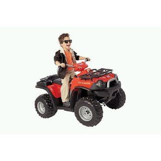 Power Wheels Fisher Price Kawasaki Red Brute Force ATV