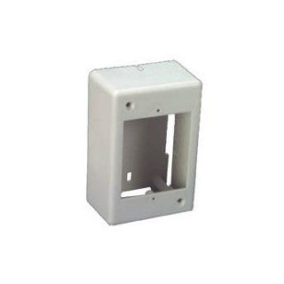 Ivory Surface Mount Junction Box Single Gang Electrical Boxes