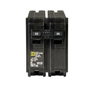 Square D by Schneider Electric Homeline 35 Amp Two Pole Circuit Breaker HOM235CP