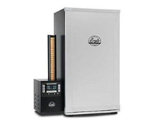 Bradley Digital 4 Rack Electric Smoker with Temperature and Smoke Control  Patio, Lawn & Garden