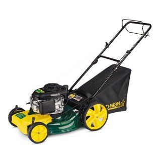 Yard Man 21 Inch 3 in 1 Deck with Honda 160cc Engine Self Propelled Lawn Mower 12A 569Q755 (Discontinued by Manufacturer)  Walk Behind Lawn Mowers  Patio, Lawn & Garden